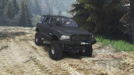 Dodge Durango 1998 [25.12.15] pour Spin Tires