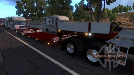 Doll Vario 3 Axle Trailer für American Truck Simulator