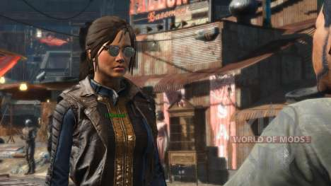 Azar Ponytail Hairstyles pour Fallout 4