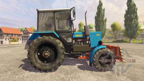 MTZ-82.1 belarussische v1.0 für Farming Simulator 2013