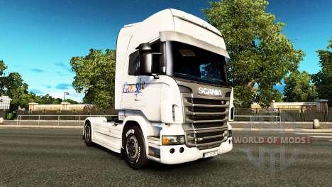 Google peau pour Scania camion pour Euro Truck Simulator 2