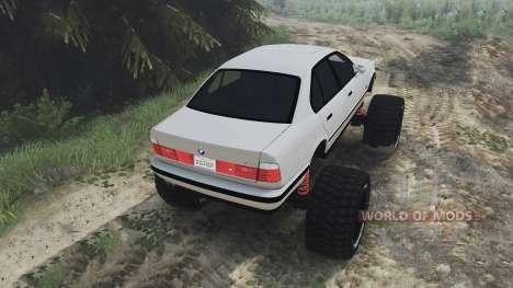 BMW M5 (E34) [bigfoot] v1.2 [16.12.15] für Spin Tires