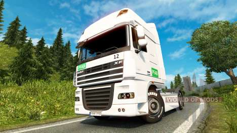 Skin PFAB on-tracteur DAF pour Euro Truck Simulator 2