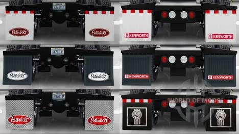 HD-Schlamm-klappen für American Truck Simulator