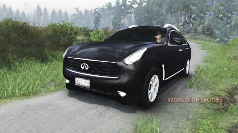 Infiniti FX35 [25.12.15] pour Spin Tires