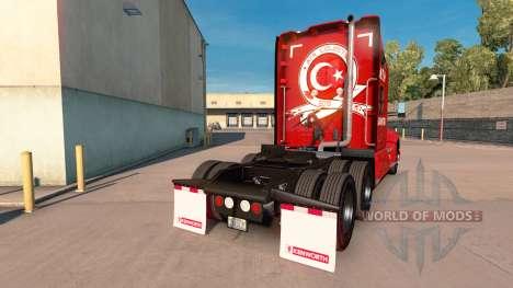 ATA-Logistik-skin für die Kenworth-Zugmaschine für American Truck Simulator