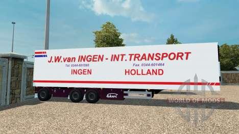 Semi J. W. van Ingen für Euro Truck Simulator 2
