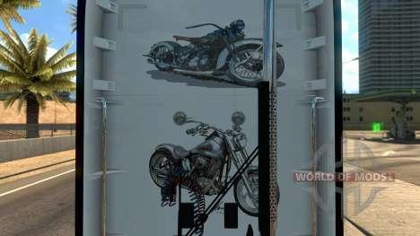 Kenworth T680 Harley Davidson Skin pour American Truck Simulator