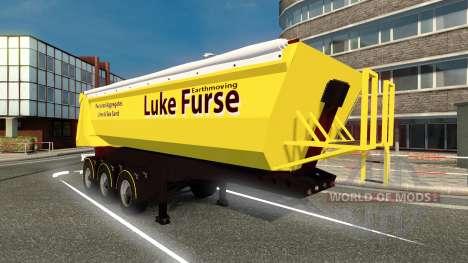 Lukas Furse skin für trailer für Euro Truck Simulator 2