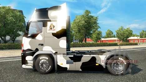 La peau de l'Armée américaine de la Neige sur un pour Euro Truck Simulator 2