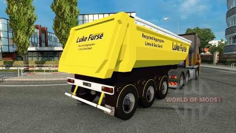 Luc Furse de la peau pour remorque pour Euro Truck Simulator 2