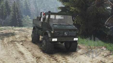 Mercedes-Benz Unimog U1650 [16.12.15] pour Spin Tires