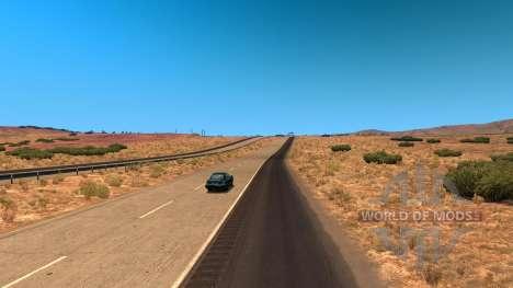 Réduit la densité du trafic pour American Truck Simulator