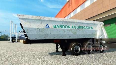 Bardon Aggregate, die Haut auf dem Anhänger für Euro Truck Simulator 2