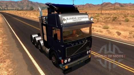 Volvo F10 Heavy Transporter Truck pour American Truck Simulator