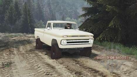 Chevrolet C30 1966 [tan] v1.1 [16.12.15] pour Spin Tires