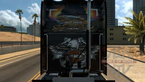 T680 Harley Davidson skin pour American Truck Simulator