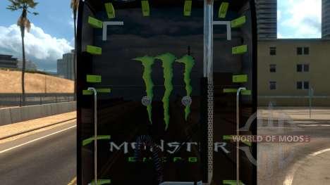 Kenworth T680 Monster Energy pour American Truck Simulator