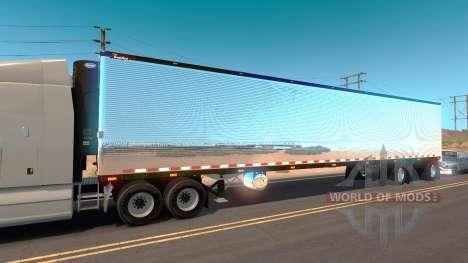 Chrome Anhänger für American Truck Simulator
