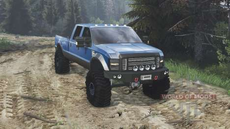 Ford F-350 2008 [08.11.15] pour Spin Tires