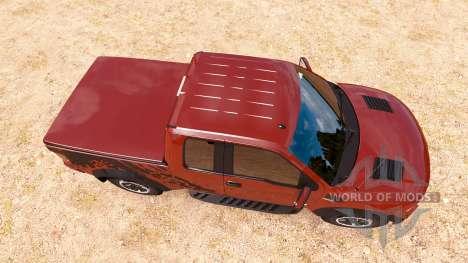 Ford F-150 SVT Raptor v1.1 pour American Truck Simulator