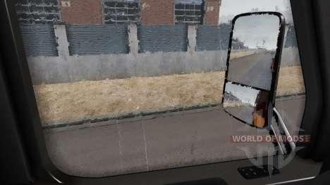 Effet de pluie, v1.7.4 pour American Truck Simulator
