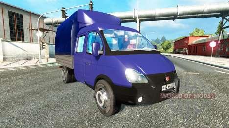 GAZ-3302 für Euro Truck Simulator 2