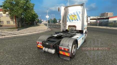 Bayern Express skin für Volvo-LKW für Euro Truck Simulator 2