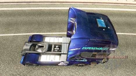 Expendables peau pour Scania camion pour Euro Truck Simulator 2