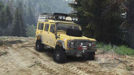 Land Rover Defender 110 Camel Trophy [25.12.15] für Spin Tires