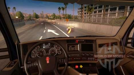 L'hologramme de la minicarte pour American Truck Simulator