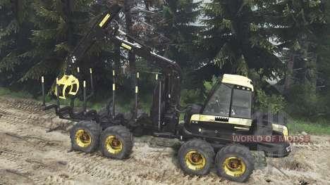 PONSSE Buffalo 8x8 [16.12.15] für Spin Tires
