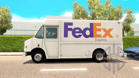 Echte Marken in die Transporter aus dem Verkehr für American Truck Simulator