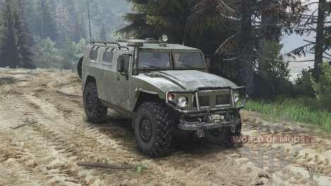 GAZ-2975 Tiger [25.12.15] für Spin Tires