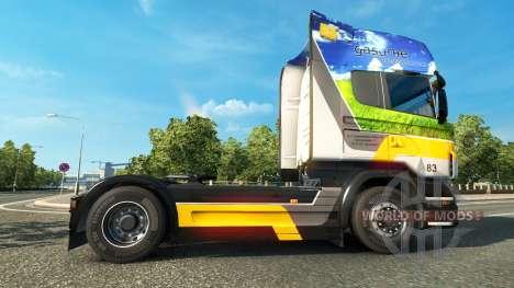 Gasunie Transport skin für den Scania truck für Euro Truck Simulator 2