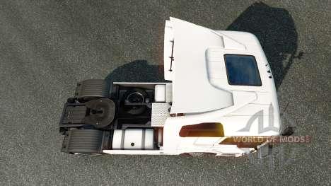 La peau Klaus Bosselmann sur le tracteur Mercede pour Euro Truck Simulator 2