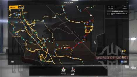 Karte off-road für American Truck Simulator