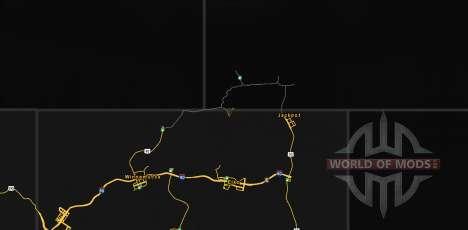 Les Routes Du Nord Du Nevada pour American Truck Simulator