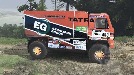 Tatra 815 Dakar [08.11.15] für Spin Tires