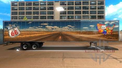 Route 66 Trailer pour American Truck Simulator