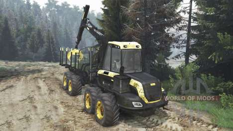 PONSSE Buffalo 8x8 [16.12.15] pour Spin Tires