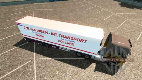 Semi J. W. van Ingen pour Euro Truck Simulator 2