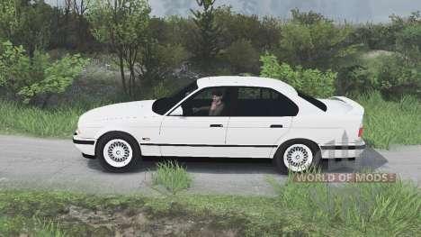 BMW M5 (E34) 1995 [25.12.15] für Spin Tires
