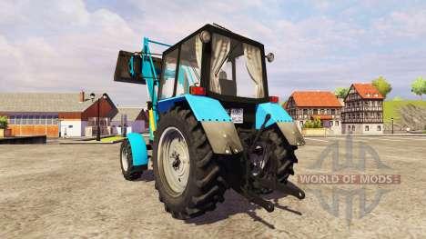 MTZ-82.1 Bélarus [loader] pour Farming Simulator 2013