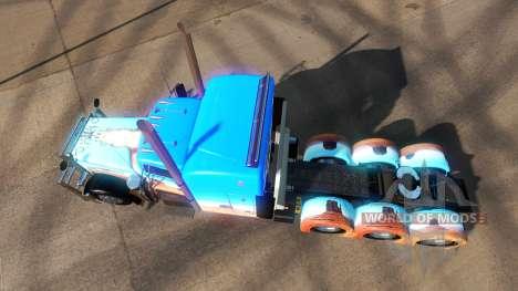 La peau Caveira sur les camions Peterbilt 379 pour American Truck Simulator