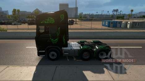 Scania Streamline für American Truck Simulator