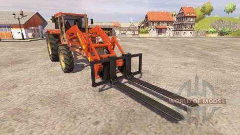 Schluter Compact 1050T v2.0 FL pour Farming Simulator 2013