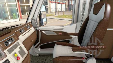 La nouvelle couleur Peterbilt 579 intérieur pour American Truck Simulator