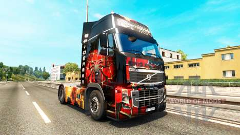 Spiderman peau pour Volvo camion pour Euro Truck Simulator 2