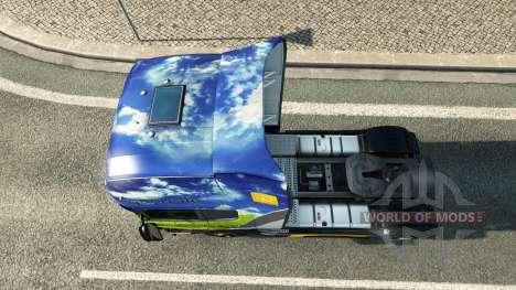 Gasunie de Transport de la peau pour Scania cami pour Euro Truck Simulator 2